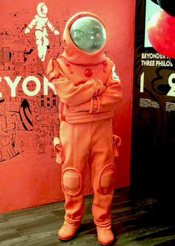 spacesuit astronaut costume suit custom made by Tentacle Studio