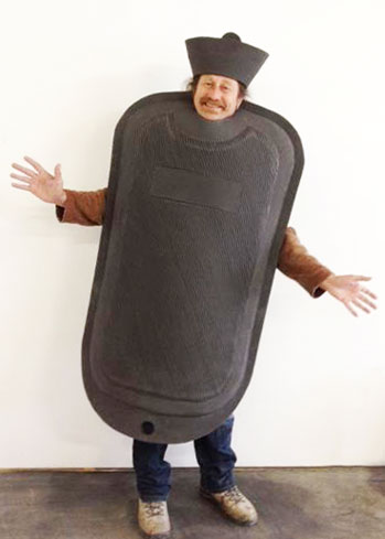 hot water bottle costume tv advert