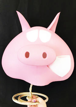 moonpig prop costume pig mask makers
