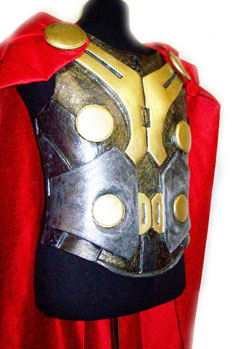 Thor hero armour film costume props maker
