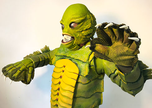 custom made monster costume creature black lagoon