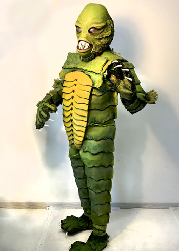 creature black lagoon costume makers tentacle studio