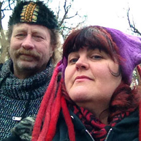 Bev Shalts Mike Petty Castlefest winter 2016