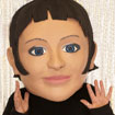 buy giant bobble head mascot costume custom made stewardess flight attendant