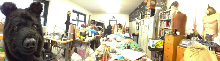 Tentacle studio costume making workshop