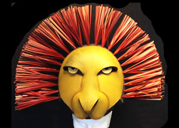 lion king headdress mask to buy for sale
