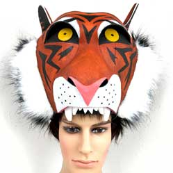 tiger shere khan jungle book headdress mask hat Tentacle Studio costume