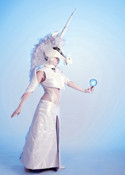 unicorn magical head mask animal headdress costume