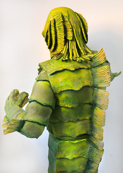 creature monster green black lagoon custom costume made by Tentacle Studio