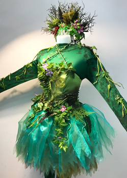 adult green woodland fairy sprite halloween costume