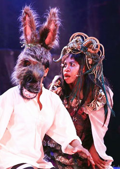 midsummer nights dream donkey mask head theatre