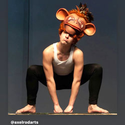 monkey king axelrod ballet theater costume headdress hat made by Tentacle Studio